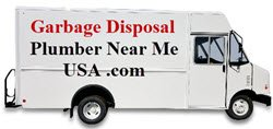 Garbage Disposal Plumber Near Me USA .com service truck