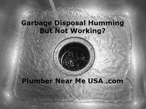 Garbage disposal humming but not working Plumber Near Me USA .com