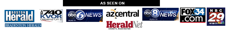 As seen on ABC News, Boston Herald, FOX, NBC