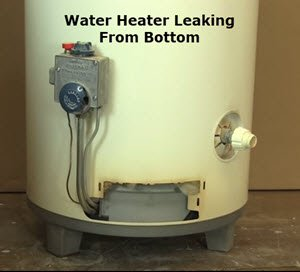 Water heater leaking from the bottom. Plumber Near Me USA .com