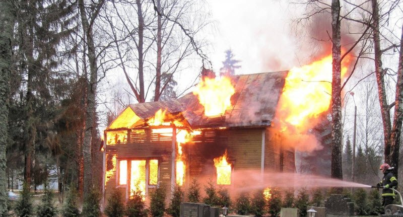 House fire caused by DIY gas appliance repair?