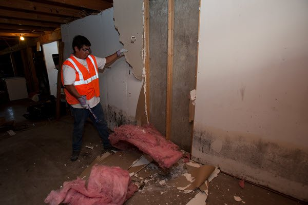 Water damage caused by a burst water pipe. Your local plumber in Maplewood MN can prevent that from happening - even when you are on vacation.